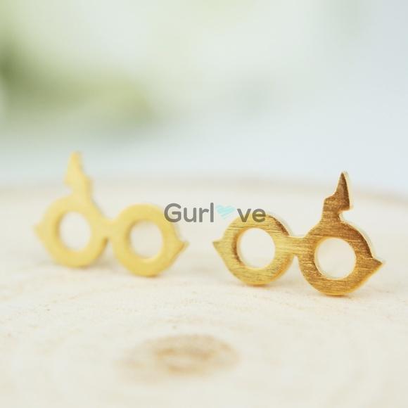 Jewelry Harry Potter Glasses Stud Earrings Poshmark